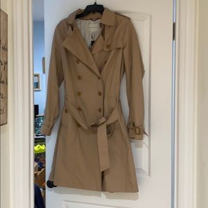 Brand new tan trench coach from Banana Republic!